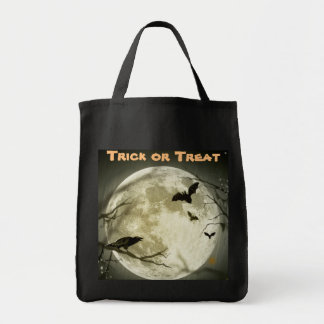Trick or Treat Full Moon Candy Bag