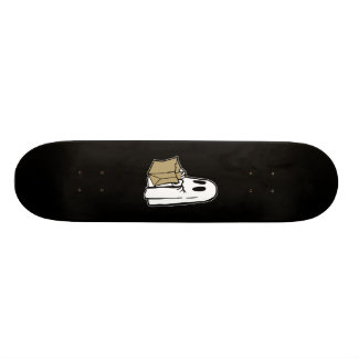 Trick or Treat Ghost 18.1 Cm Old School Skateboard Deck