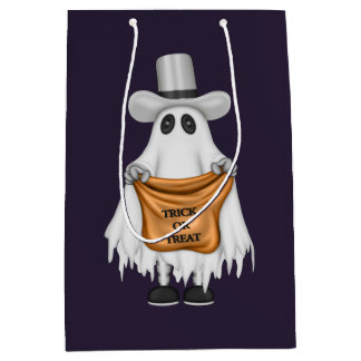 Trick or Treat Ghost Gift Bag