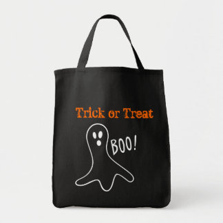 Trick or Treat Ghost Halloween Bag
