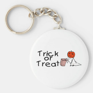 Trick or Treat Ghost Key Chain