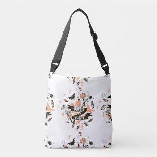 Trick or Treat Goodies Design Crossbody Bag