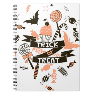 Trick or Treat Goodies Design Notebook