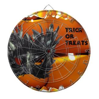 Trick or Treat Gothic Mask Dart Board