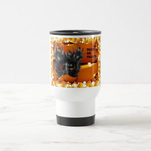Trick or Treat Gothic Mask Mug