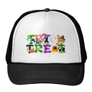 Trick or Treat Greeting Mesh Hats