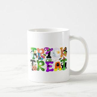 Trick or Treat Greeting Mugs