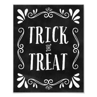 Trick or Treat | Halloween Art Print