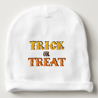 Trick or Treat Halloween Baby Beanie
