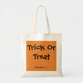Trick or Treat Halloween Bag for Him or Her