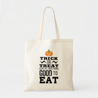 Trick Or Treat Halloween Budget Tote Bag