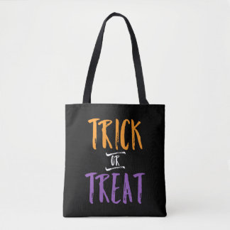 Trick Or Treat Halloween Candy Bag   Colorful