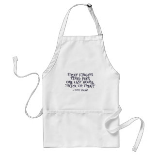 Trick Or Treat Halloween Design Standard Apron