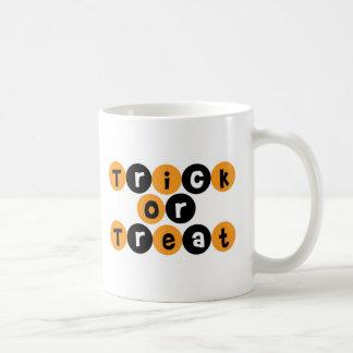 Trick or Treat Halloween Fun Coffee Mugs