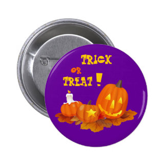 Trick or Treat! Halloween Gift 6 Cm Round Badge