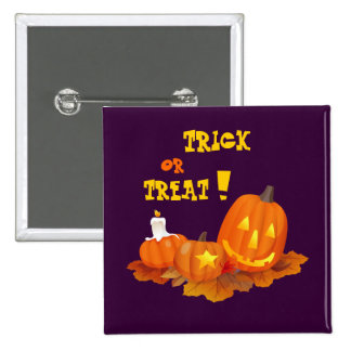 Trick or Treat! Halloween Gift Button