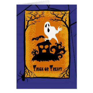 Trick or Treat! Halloween Greeting Cards