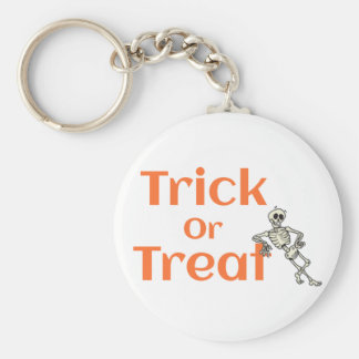 Trick or Treat halloween Keychain