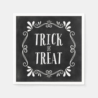 Trick or Treat | Halloween Napkins Disposable Serviettes