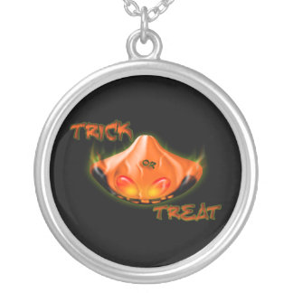 Trick Or Treat Halloween Necklace