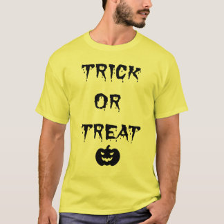 Trick or Treat Halloween Party Tshirt