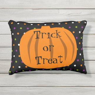 Trick or Treat Halloween Pumpkins Outdoor Cushion