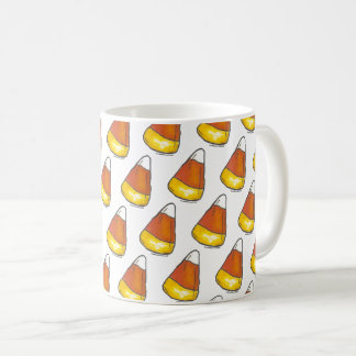 Trick or Treat Halloween Thanksgiving Candy Corn Coffee Mug