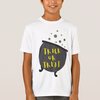 Trick or Treat Halloween Witch Cauldron T-Shirt