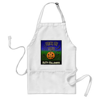 trick or treat, Happy Halloween apron