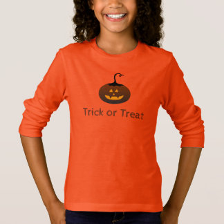 Trick Or Treat Happy Halloween Spooky Pumpkin T-Shirt