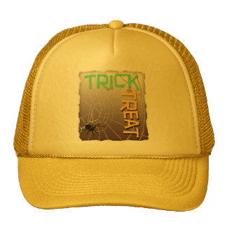 Trick or Treat Mesh Hat