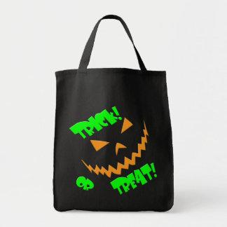 Trick or Treat Jacko #3 Tote Bags