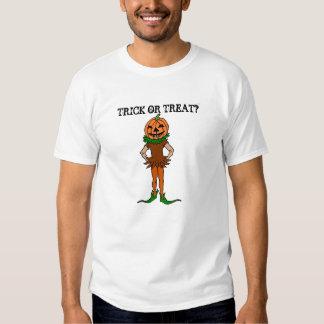 Trick or Treat Jackolanternman T Shirt
