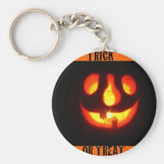 Trick or treat key chain