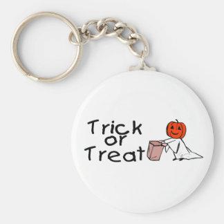 Trick or Treat Keychain