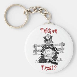Trick or Treat? Keychain