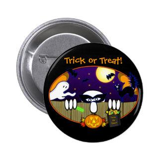 Trick Or Treat Kilroy Button