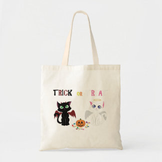 Trick or Treat Kittens Tote Bag