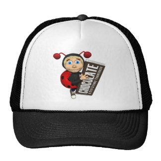 Trick Or Treat Lady Bug Mesh Hats