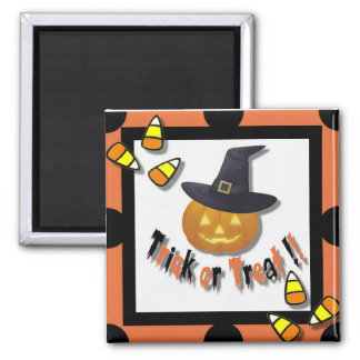 Trick or Treat Magnet ~ Orange