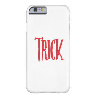 Trick Or Treat Matching Halloween Funny Gif Barely There iPhone 6 Case