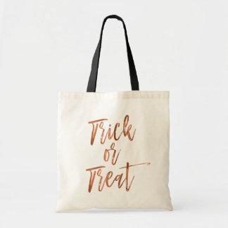 Trick or Treat Modern Halloween Candy Bag