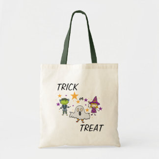Trick or Treat Monster Costume Kids Tote Bag
