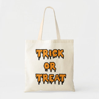 Trick or Treat - Orange Budget Tote Bag