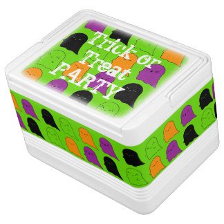Trick or Treat Party Ghost Igloo Cooler
