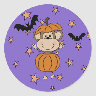 Trick or Treat Party Sticker