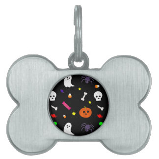 trick or treat pet tag