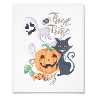 Trick or Treat Photo Print