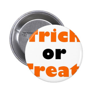Trick or treat pin