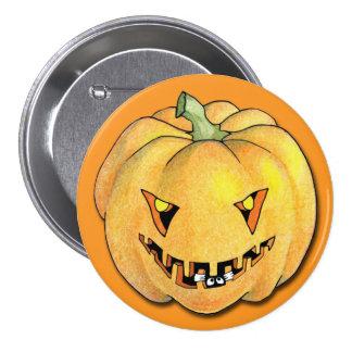 Trick or Treat Pumpkin Button